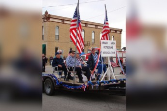 Inman Veterans, Santa Fe Days Parade, 2010.