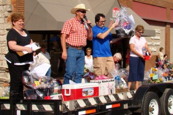 Proceeds from auction to benefit Inman resident, Rod Shober, Santa Fe Days, 2010.